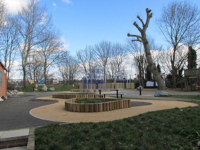 Log Cabin playground
