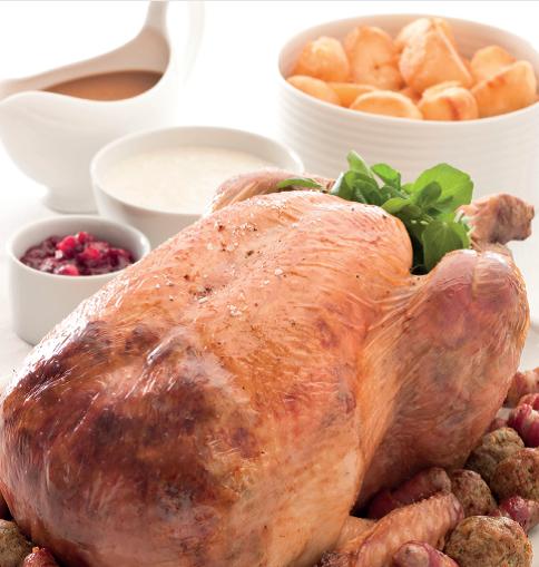 Roast turkey recipe from Leiths and Northfields
