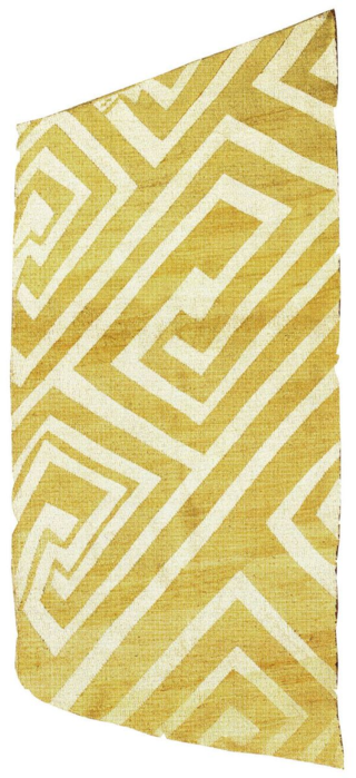 Photo 1 - Start with the Floors Kilim- Anatolia yellow geometric rug