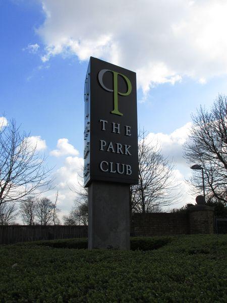 Park Club sign