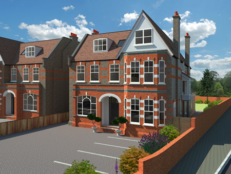 Grange road 1 and 2 bedroom apartments for sale from Northfields and Uplift