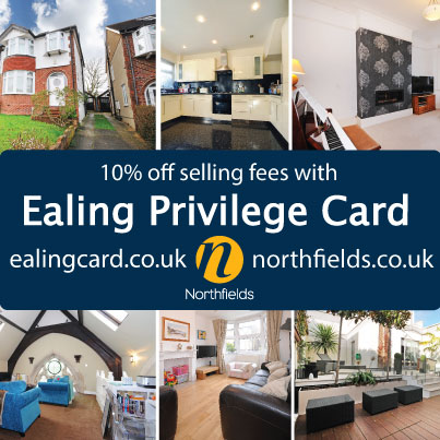 Ealing-Privelege-Card-10%-off