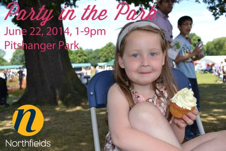 Party-in-the-Park-enjoying-fundraising-cupcakes