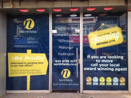 Acton shop front