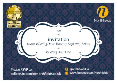 EalingHourLive invitation