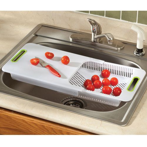 Over sink chopping board